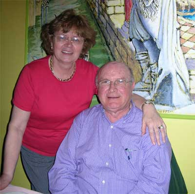 Roisin and Ray O'Conner
