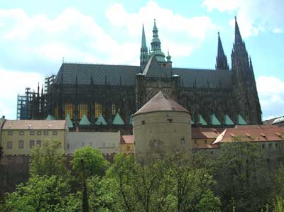 The Cathedral of St. Vitus on the Castle grounds