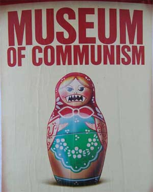 Billboard for the Museum of Communism