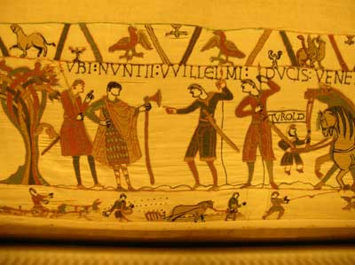 Scene from the Bayeaux Tapestry