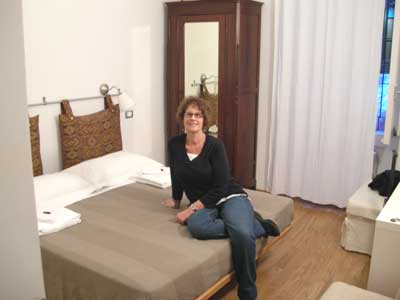 Our room at Arco del Lauro