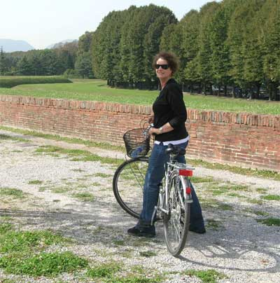 At the ancient walls around Lucca