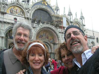 The four Wandering Jews at St. Mark's