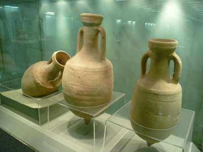 Ancient urns in Athens