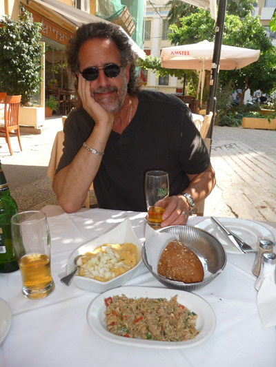 David at Ouzeri Tou Terzaki in Heraklion, Crete