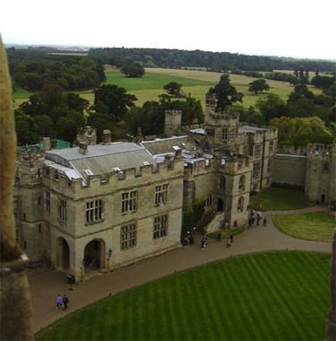 The Main House at Warwick Castle