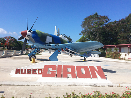 At the Bay of Pigs Museum