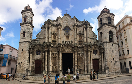 Cathedral in Old Havana