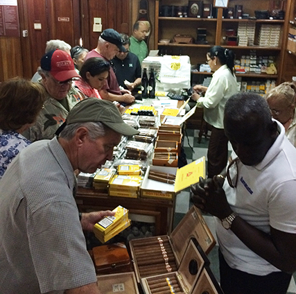 The mad rush to buy cigars in Havana