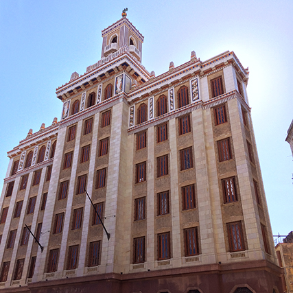 Bacardi Building in Havana