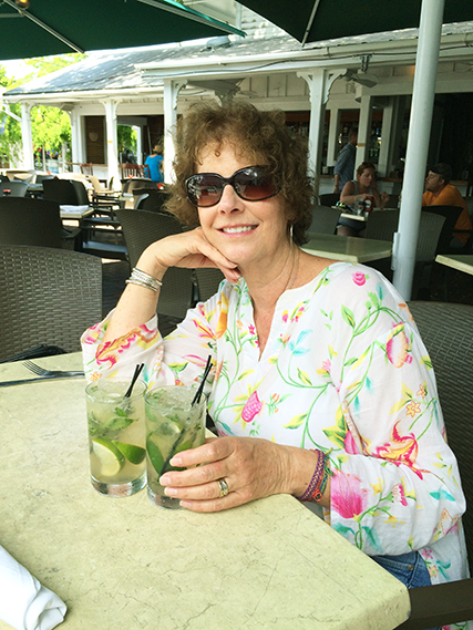 Delicious mojitos at Mangoes in Key West