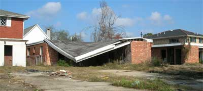 New Orleans damage, 16 months post-Katrina