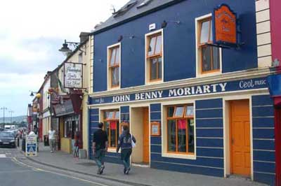 John Benny's pub in Dingle