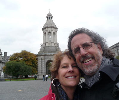 At Trinity College in Dublin