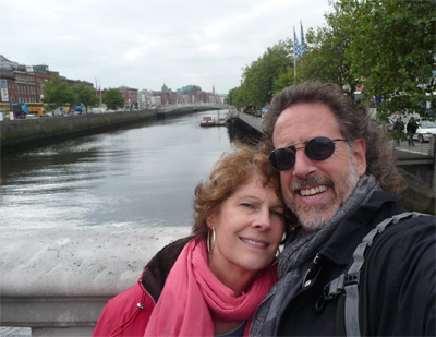 Carol and David in Dublin