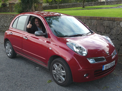Our wonderful little Nissan Micra