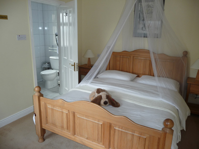 Our bedroom at The Driftwood B&B in Kenmare