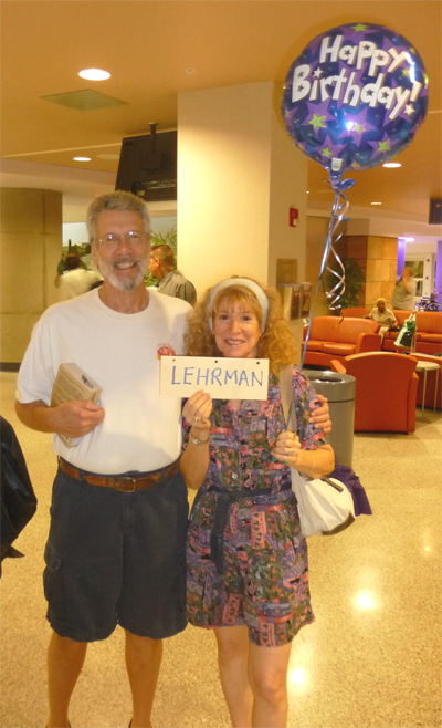 Our friends Marc and Muriel met us at the Tucson International Airport.  Great homecoming!