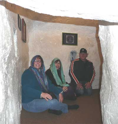 Inside the sacred Druze cave