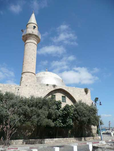 Ancient mosque in Acco