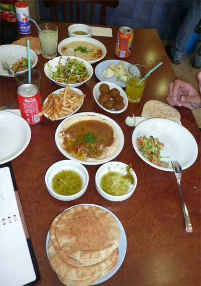 Lunch in Old Jaffa