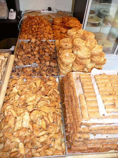 Delicious sweets in Old Jaffa