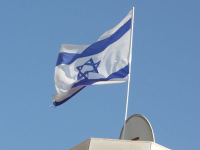 Photo taken from our hotel rooftop - this was a very common site around Israel