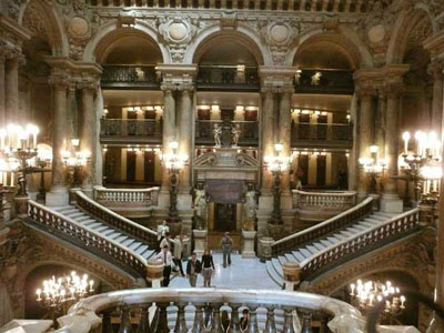 The Opera's Golden Staircase