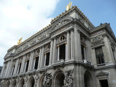 Le Palais Garnier, the Opera Nationale de Paris