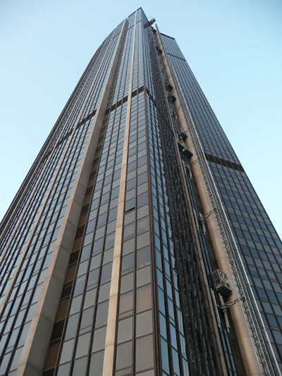 The towering Tour Montparnasse