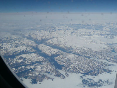 The ice, rock and snow of Greenland