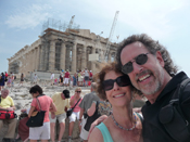 At the Parthenon