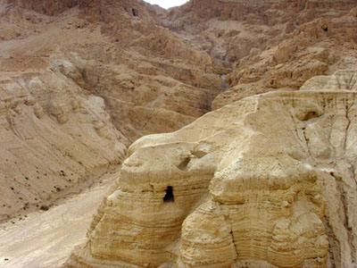 Qumran - where the Dead Sea Scrolls were discovered