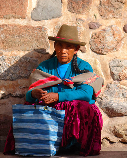 Woman in Cuzco