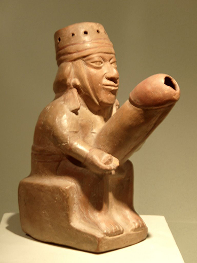 Ancient Peruvian erotic art at Museo Larco in Lima, Peru