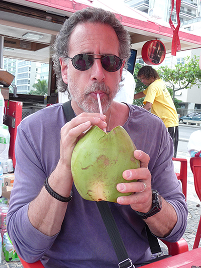 Delicious, cool coconut water