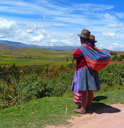 On the way to the Sacred Valley