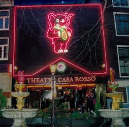The relatively sedate Casa Rosso