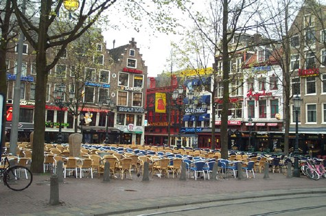 Cafes at Leidseplein