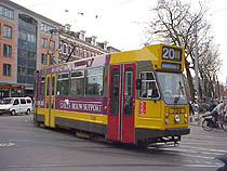 Our favorite tram, the #20 Circle Tram