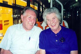 Bob and Nora from Newcastle, England