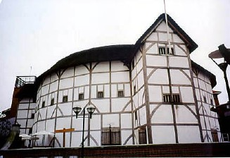 The reconstructed Globe Theatre