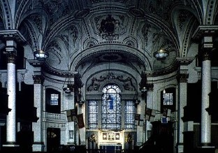 Interior of St. Martin-in-the-Fields