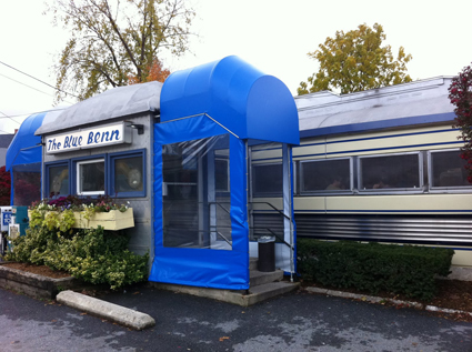 The Blue Benn Diner in Bennington, Vermont