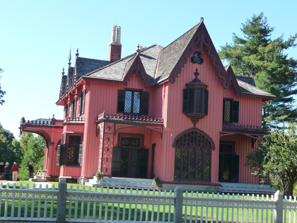 """The Pink House"" in Woodstock,  Connecticiut"