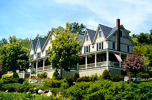 Five Gables Inn B&B in Boothbay Harbor, Maine