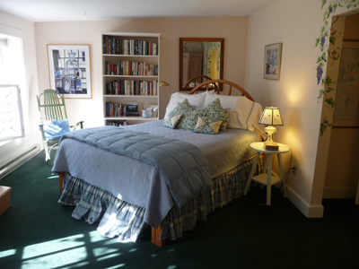 Our room at the Bufflehead Cove B&B in Kennebunkport, Maine