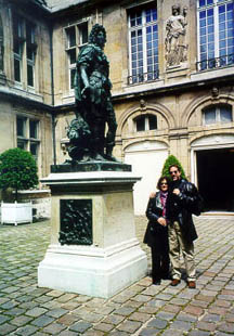 Us with Louis XIV, the Sun King