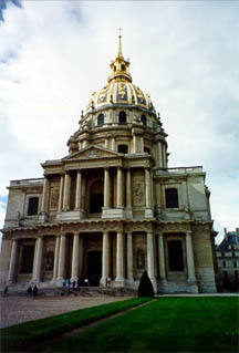 Les Invalides and the tomb of Napoleon
