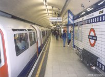 The Tube at Leicester Square